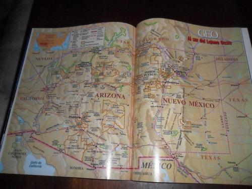 al sur del lejano oeste nacion navajo arizona mapa plano