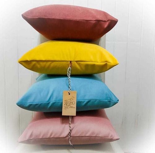 al043-almohadon de pana terciopelo rectangular