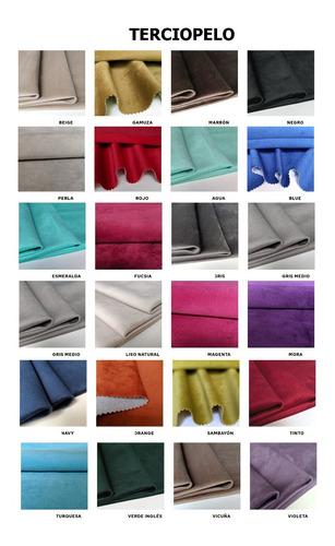 al044-almohadon de terciopelo rectangular