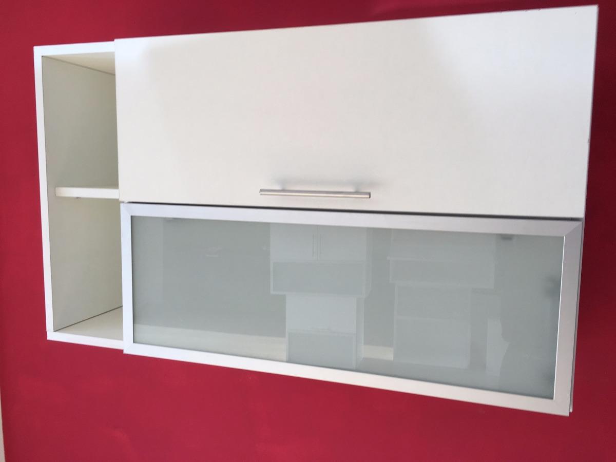 Alacena 100 60 30 Mueble Revatible Despensero Vidrio Repisa  # Muebles Cipriano Lanus