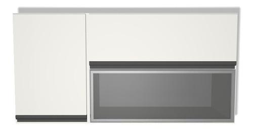alacena 100 x 60 x 30 mueble cocina vidrio rebatible calidad