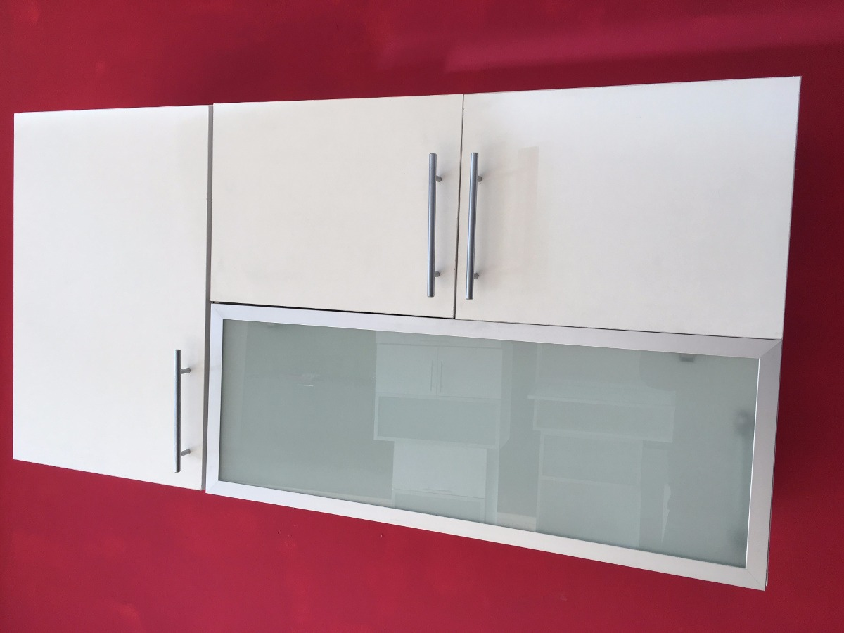 Alacena 120 60 30 Mueble Revatible Despensero Vidrio Fabrica  # Muebles Cipriano Lanus