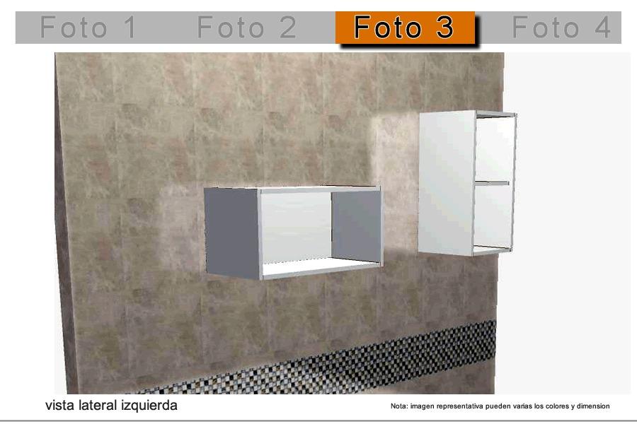 Mueble alacena cocina integral modular melamina formica - Mueble alacena cocina ...