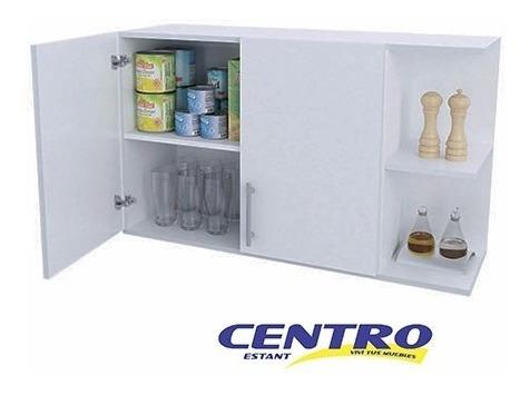 alacena colgante 2 puerta cocina multiuso con estante oferta