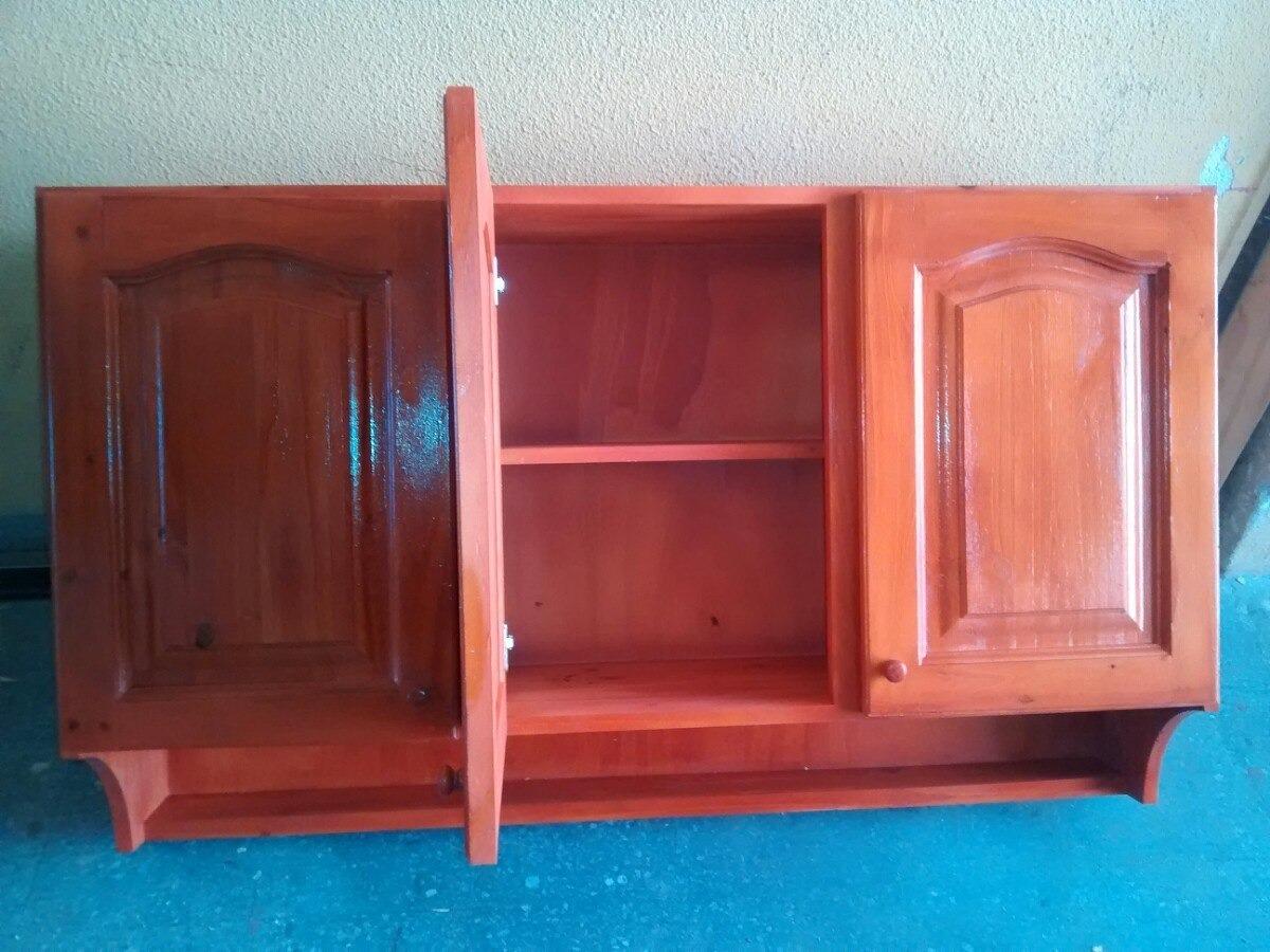 Muebles De Cocina De Pino Pintados - Alacenas de Madera en Mercado ...