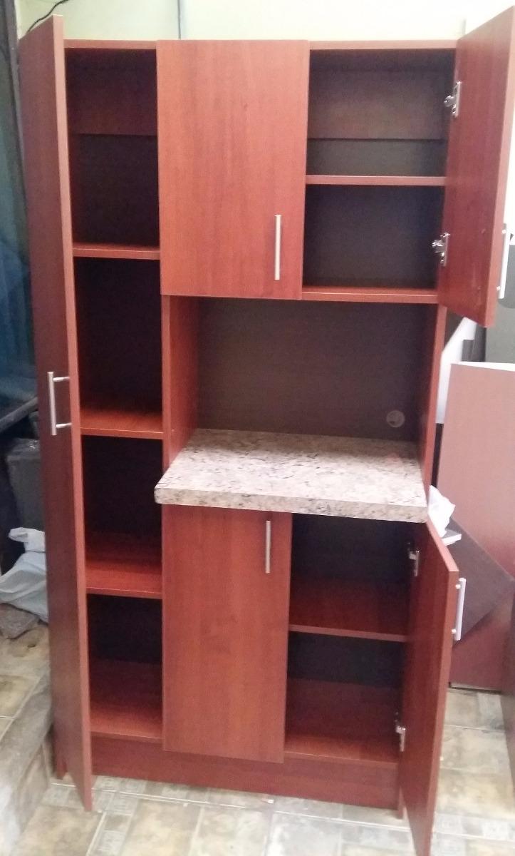 Alacena grande para microondas muebles de cocina for Muebles auxiliares cocina para microondas