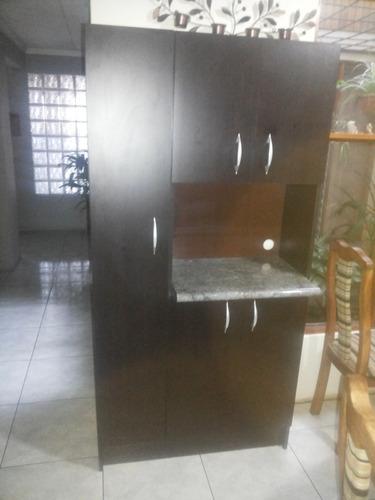 alacena grande para microondas. muebles de cocina