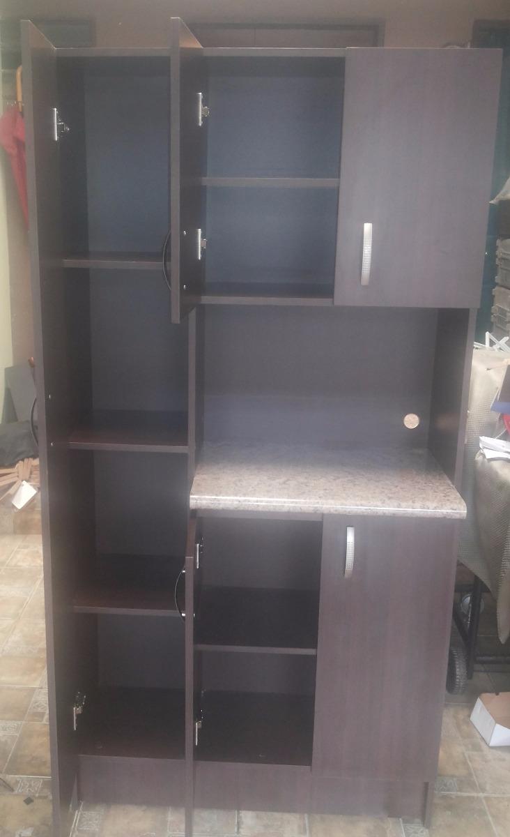 Alacena Grande Para Microondas Muebles De Cocina