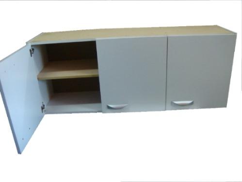 Aereo de cocina 3 puertas alacena mueble 690 00 en for Muebles aereos para cocina en uruguay