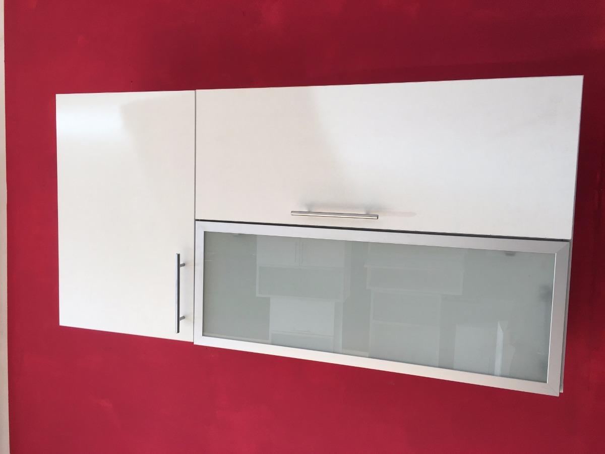 Alacena 120 60 30 Mueble Revatible Despensero Vidrio Cocina  # Muebles Cipriano Lanus