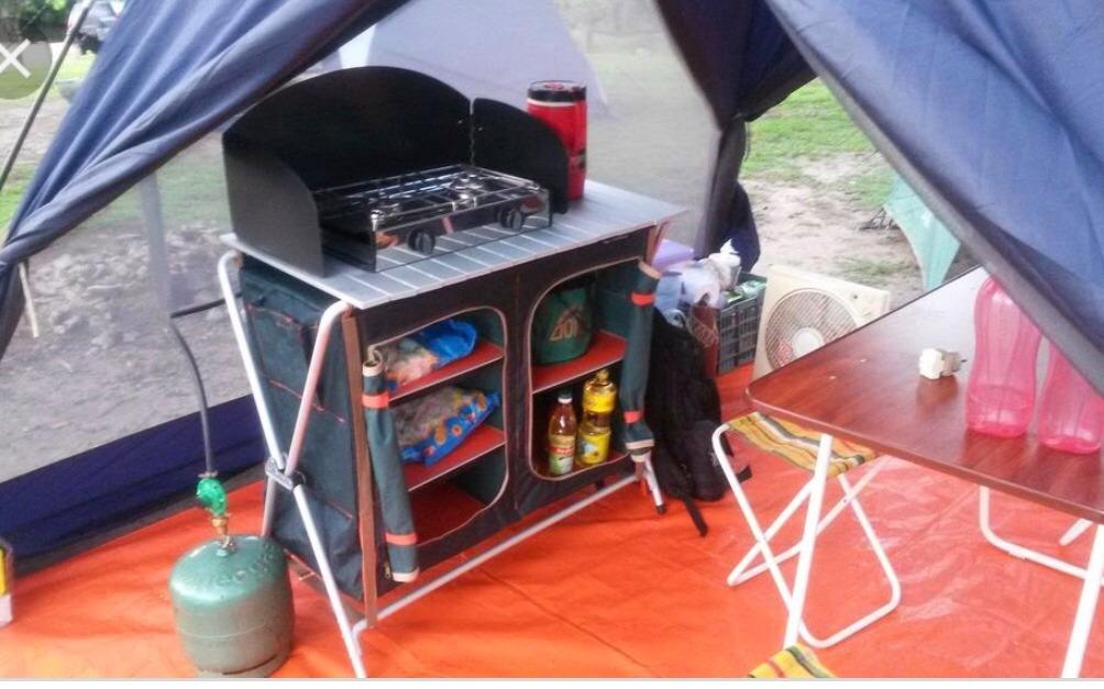 Alacena Mueble Cocina Camping Plegable Envío Gratis