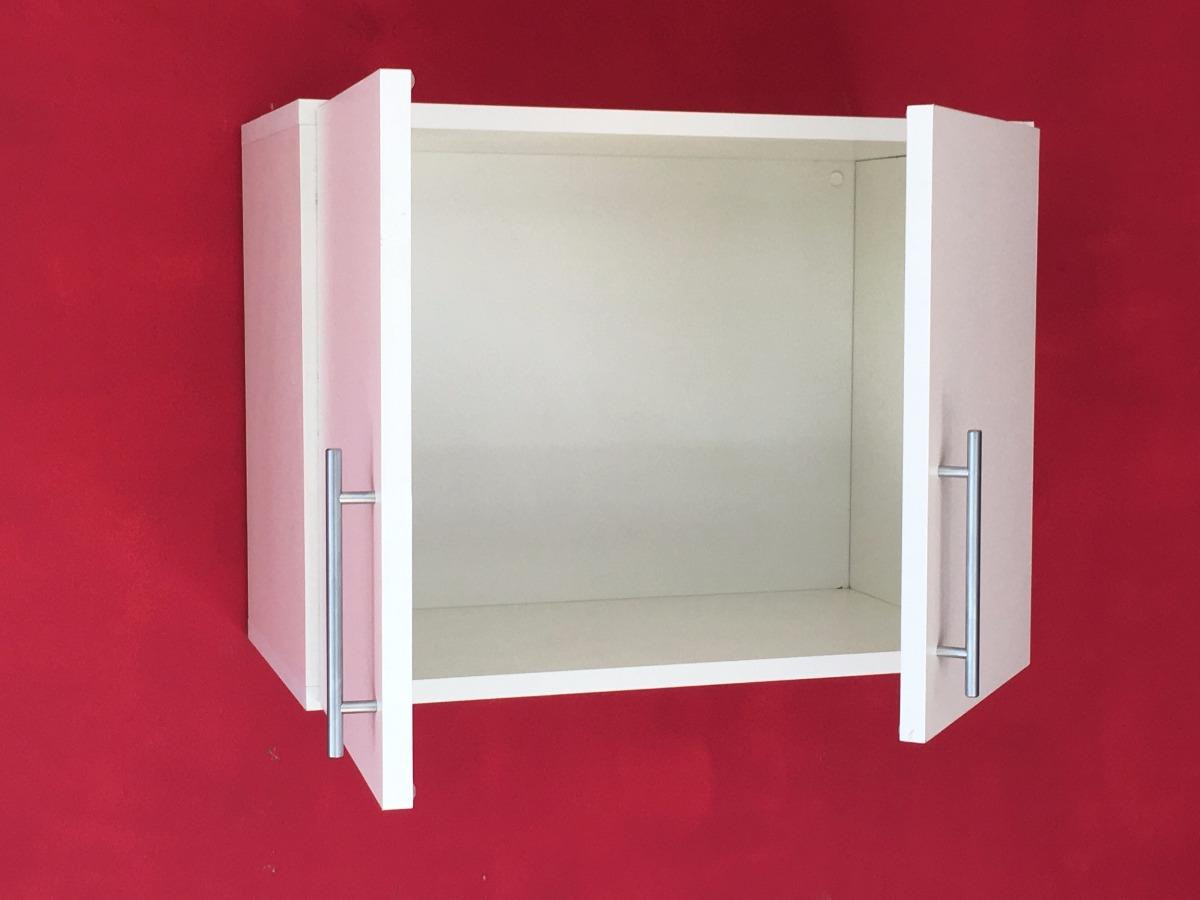 Alacena 60 45 30 Mueble Sobre Spar Melamina 18 Cocina Blanco  # Muebles Cipriano Lanus