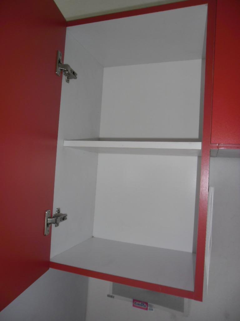 Alacena para cocina con una puerta y entrepa o de 45 cm for Muebles de cocina 45 cm