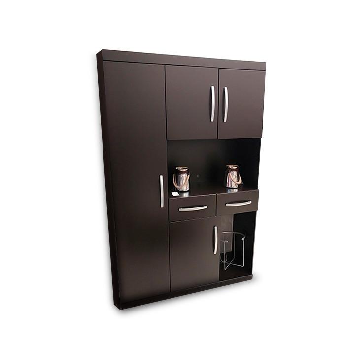 Alacena para microondas minimalista mod malaga para cocina for Mi cocina malaga