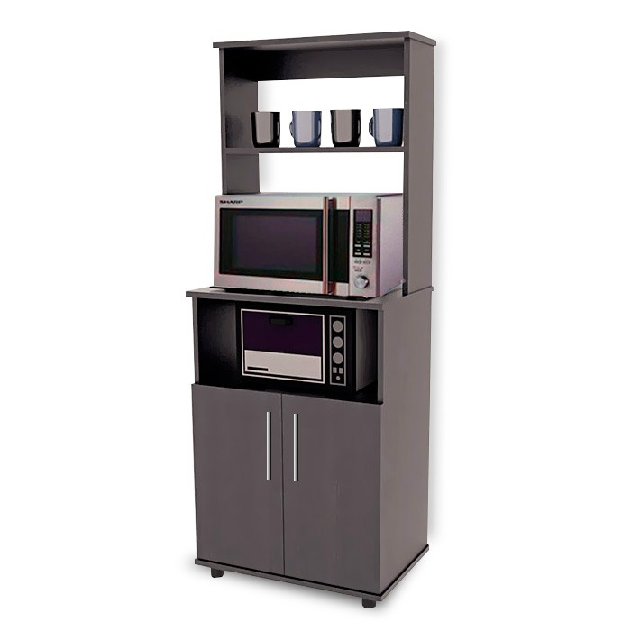 Alacena para microondas minimalista mod terragona de cocina 2 en mercado libre - Alacena cocina ...