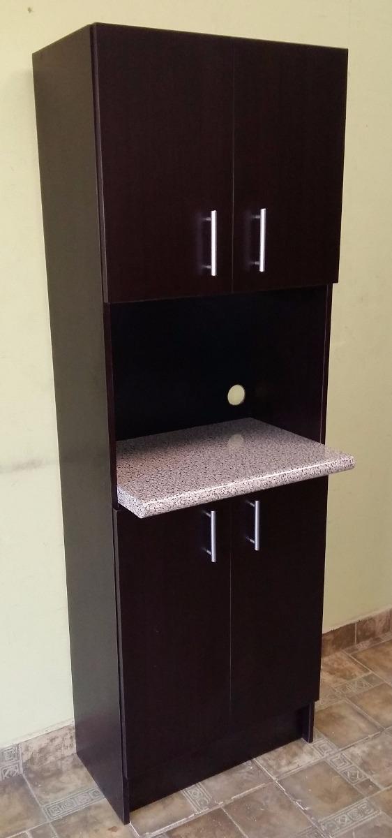 Alacena para microondas muebles de cocina 90 for Muebles de cocina para microondas
