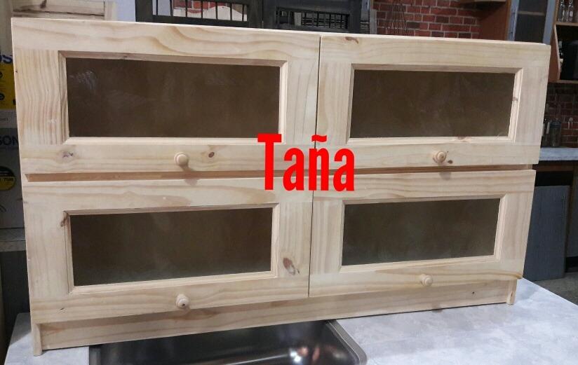 Alacena Para Muebles De Cocina En Madera Pino Reforzada - $ 3.100,00 ...