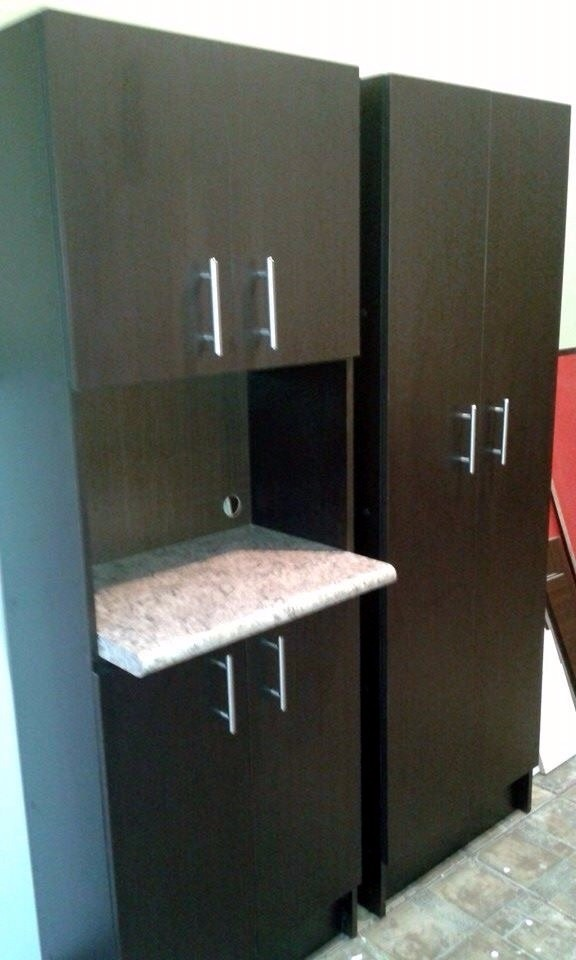 Alacenas oferta para cocina con espacio para microondas for Muebles de cocina para microondas