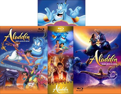 aladdin colección bluray