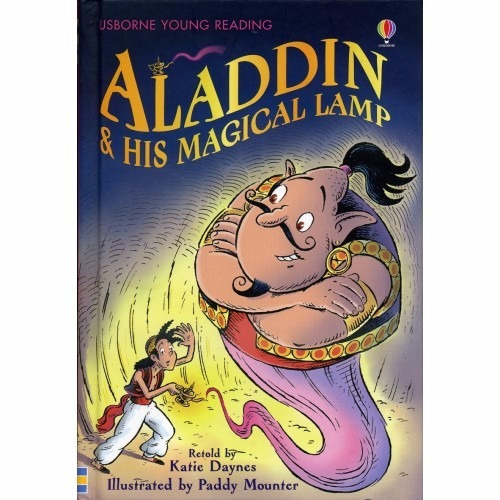 aladdin & his magical lamp - usborne young reading
