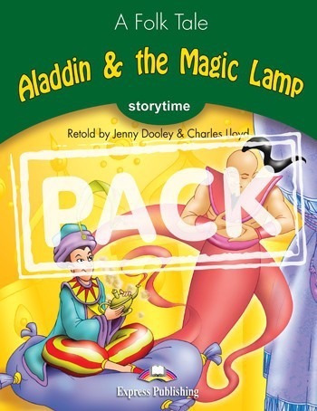 aladdin & the magic lamp - pack with/cd storytime 3 express