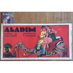 Aladim - Versos De Alvaro Armando - Ilustrações F. Acquarone