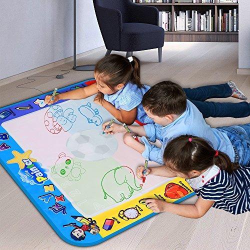 alago water doodle matkids toys large aqua mattoddlers pintu