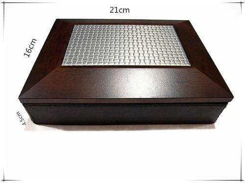 alajero de madera forrado con semicuero