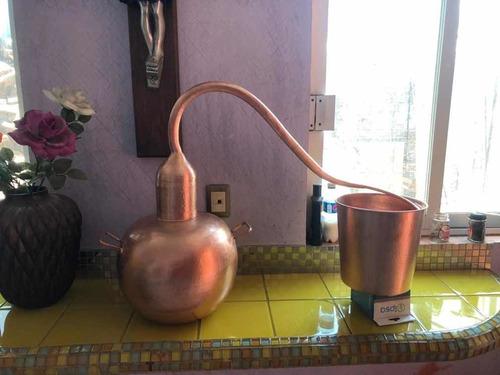 alambique de cobre 18.5 litros