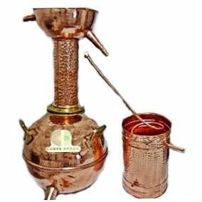 alambique destilador de cachaca em cobre 40 litros