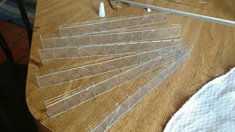 alambrado maquetes dioramas ferromodelismo 1.87\ho