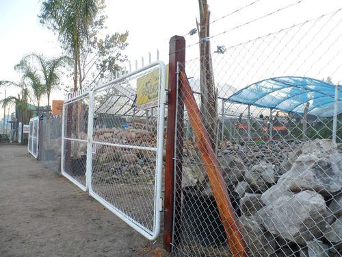 alambrados perimetrales oferta en postes de cemento
