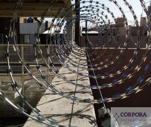 alambrados perimetrales/cerco olimpico/concertinas/ boyeros