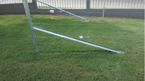 alambrados y postes  de alambrados australianos clipex
