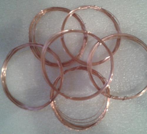 alambre d cobre orfebreria, bistureia, alambrismo, 20mts