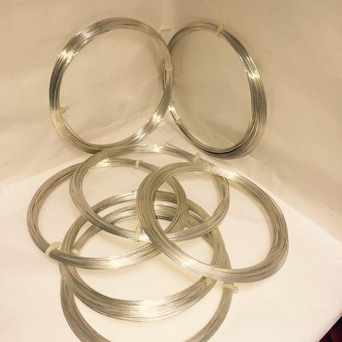 alambre de alpaca con baño de plata .925 $ 750 kg gratis dhl