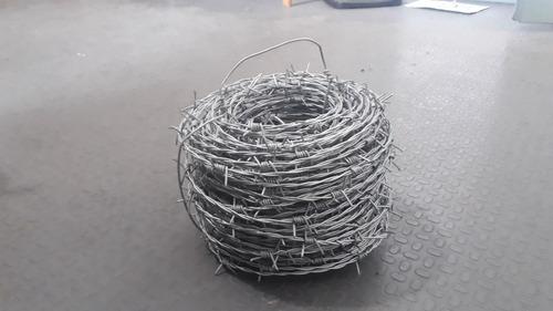 alambre de púa 50 mts