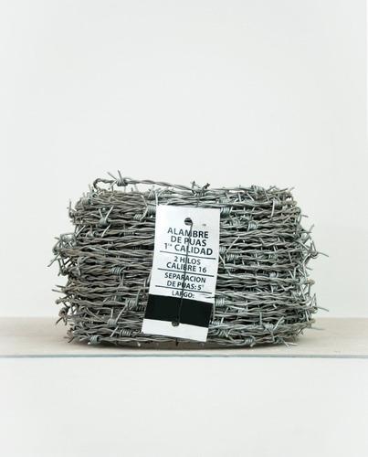alambre de púas x 25mts