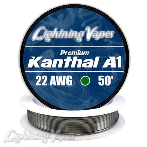 alambre de resistencia kanthal a1, 22 awg