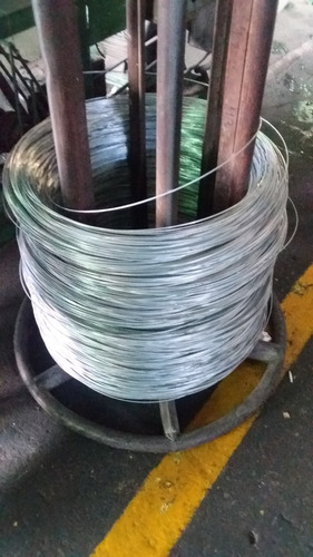 alambre galvanizado liso calibre 14 o 2,11 mm pack 50kg