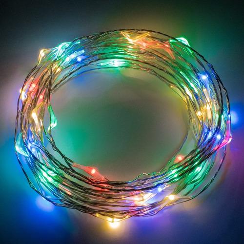 alambre led vintage 5 metros usb 5v color a elegir @tl