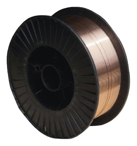 alambre para soldadora mig lusqtoff  0,8 mm rollo x 5 kg