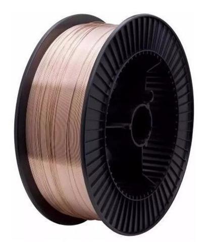 alambre para soldadora mig lusqtoff  0,9 mm rollo x 5 kg