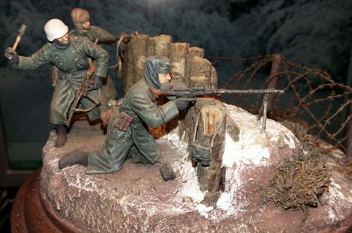 alambre puas accesorio maquetas dioramas tosner
