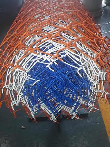 alambre tejido romboidal 1mt x 2pulg  cal 14 revestido pet.