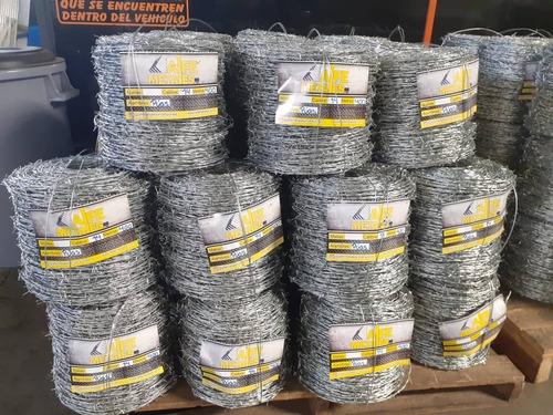 alambres de púas galvanizados 16x500 somos fabricantes
