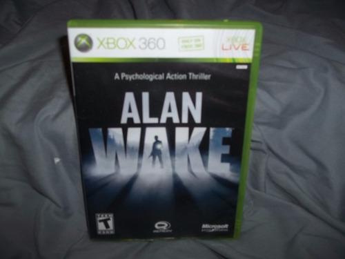 alan wake xbox 360 envio gratis