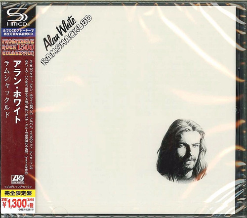 alan white / ramshackled / shm-cd / japonés nuevo y sellado