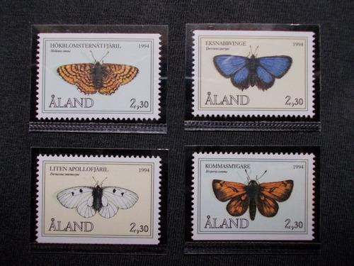 aland 1994 fauna insetos borboletas
