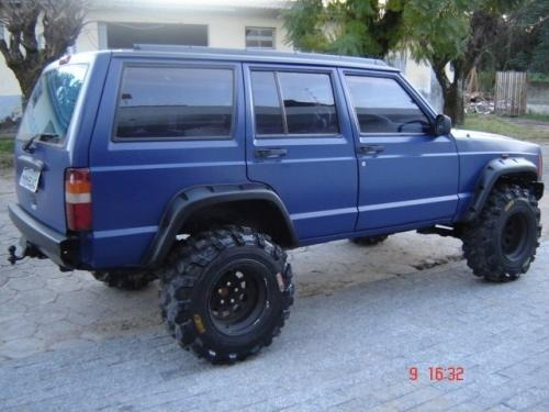 Lovely Alargador Paralama Jeep Cherokee Sport Ate 2001